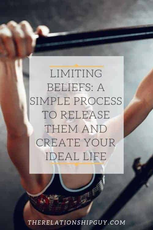 overcome limiting beliefs pinterest post
