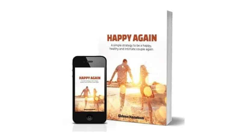 happy again book social media image